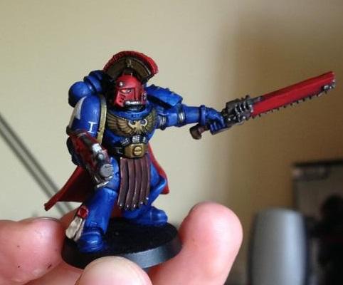 Ultramarine Sergeant