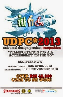 Universal Design Product Competition 2013 (UDPC 2013)