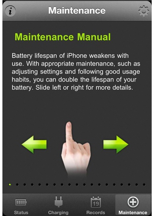 Battery doctor a free battery management app on your iphone