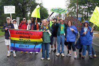 Photo of CUCC at NC Pride, 2012