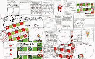 http://www.teacherspayteachers.com/Product/Starring-Santa-1002218