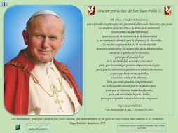 Oración por la Paz de Juan Pablo II