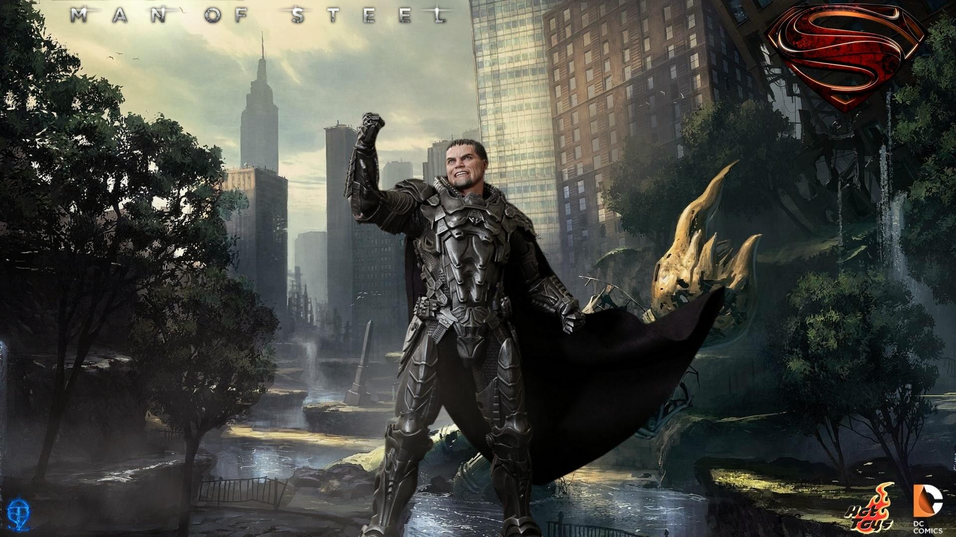 Man of steel wallpaper zod