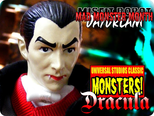 Universal Monsters Retro Cloth Figure Dracula (2011, Diamond Select and Emce Toys)