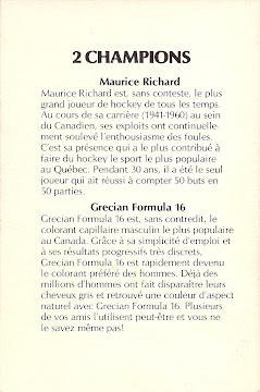 # 0694A  Maurice Richard (verso)