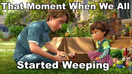 That Moment When We All Started Weeping - Toy Story 3