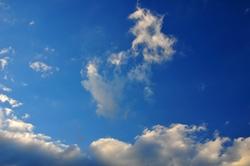 Wolkenschwund...
