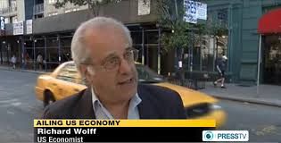 The great Richard Wolff was in a city on the street