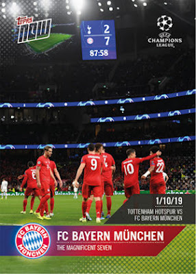 Panini-fc bayern munich-sticker cards 2018//19-1 Display 36 bolsas