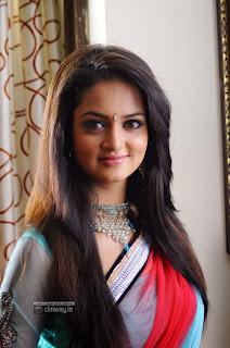 Actress-Shanvi-Latest-Photos-in-Saree
