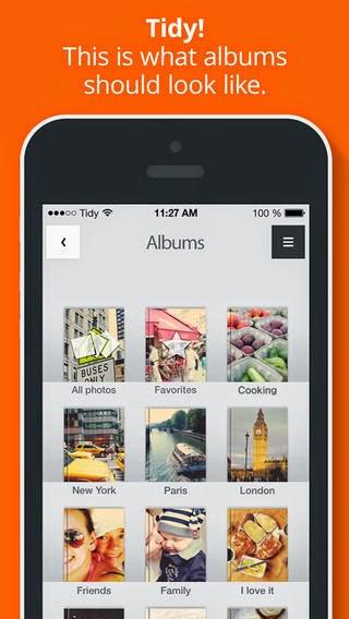 App Tidy para iPad, iPhone