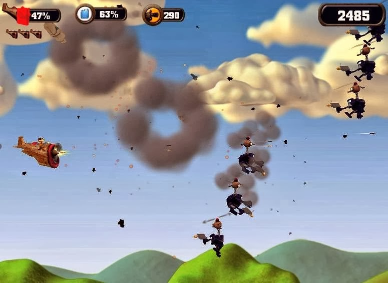 Crazy Chicken Sky Botz PC Game Free Download Full Version