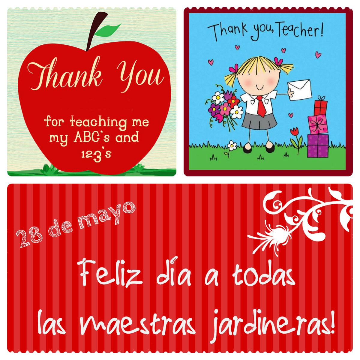 por qué hoy festejamos el día de la Maestra Jardinera ( ver más