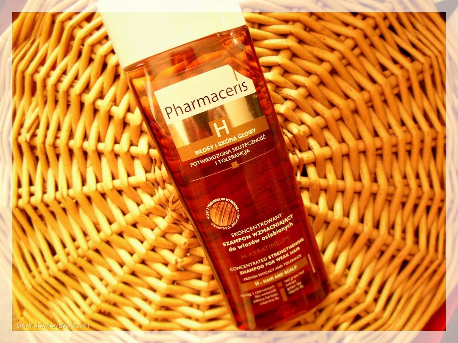 Pharmaceris –H-Keratineum –skoncentrowany szampon wzmacniający do włosów osłabionych