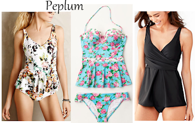 Peplum Swimsuits