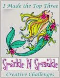 I was a Top Three at Sparkle N Sprinkle June 2013