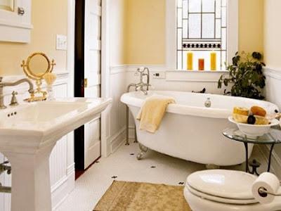 Decorar un cuarto de baño. Bañeras vintage y grifería antigua. Decorar el cuarto de baño con un toque vintage