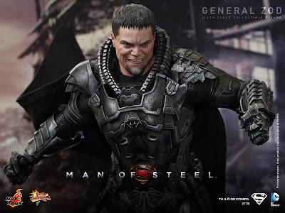 "Hot Toys Man of Steel 1/6 Scale General Zod 12"" Figure"