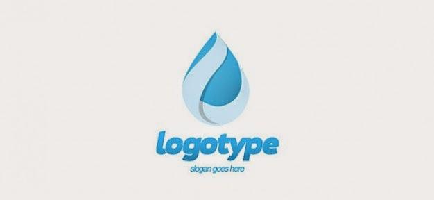 water Free Logo Design Templates