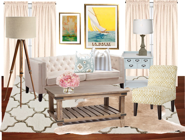 Cup Half Full Living Room Re Design