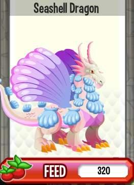 Đặc điểm thuộc tính của Seashell Dragon