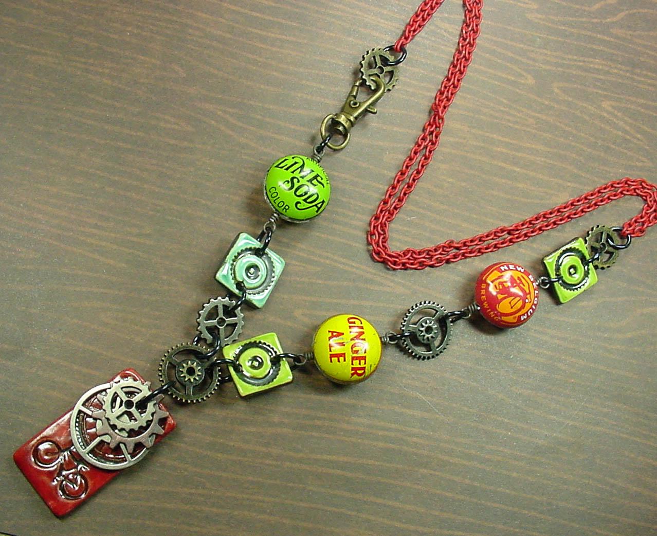 Earthenwood Studio Chronicles: Bike Ride Necklace in Bead Style ...