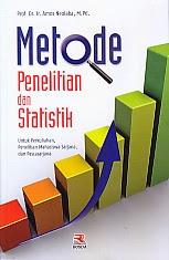 toko buku rahma: buku METODE PENELITIAN DAN STATISTIK UNTUK PERKULIAHAN, PENELITIAN MAHASISWA SARJANA DAN PASCASARJANA, pengarang amos neolaka, penerbit rosda