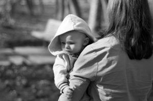 A walk in the park - Mother and Child walking in the park. Stock Photo Credit: nem_youth