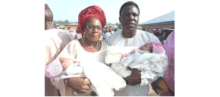 Miracle: See The Pastor's Wife That Delivered Twins After 16 Years Of Barrenness
