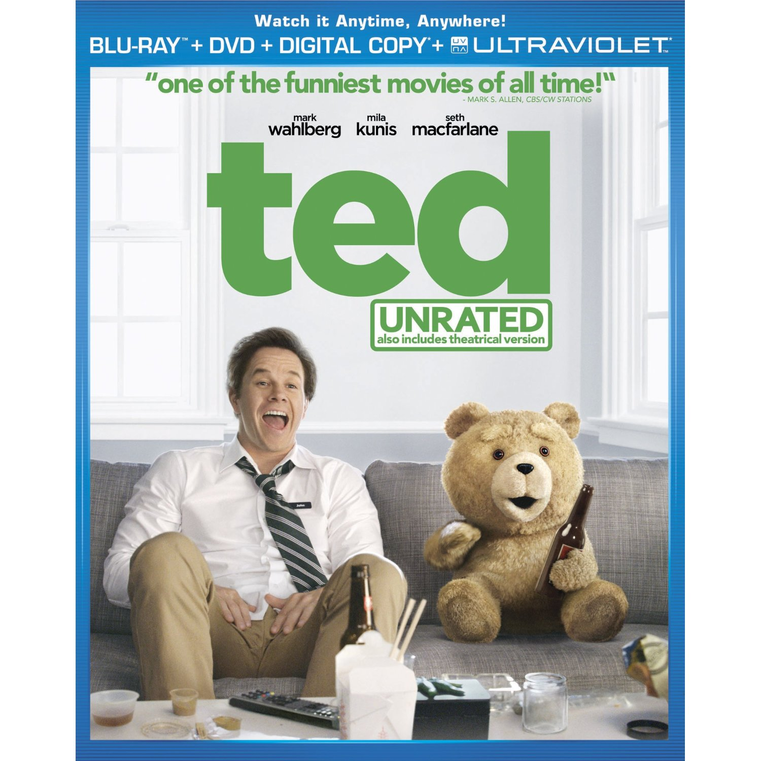 Journal seth macfarlane comedy ted coming to blu ray december 11th