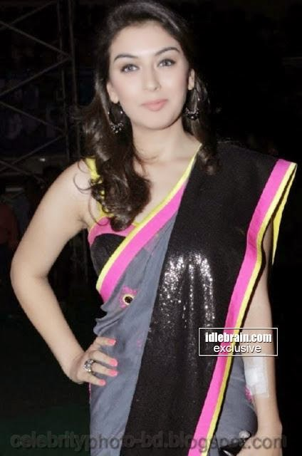 Hot+Hansika+Motwani+gorgeous+pics+In+attractive+saree005