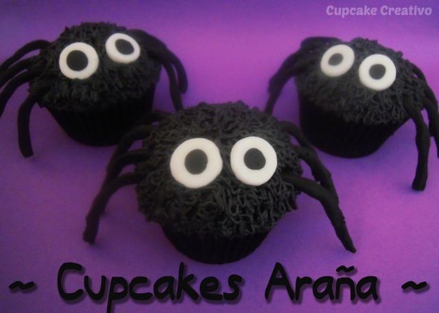 Tutorial Cupcakes de Araña Halloween