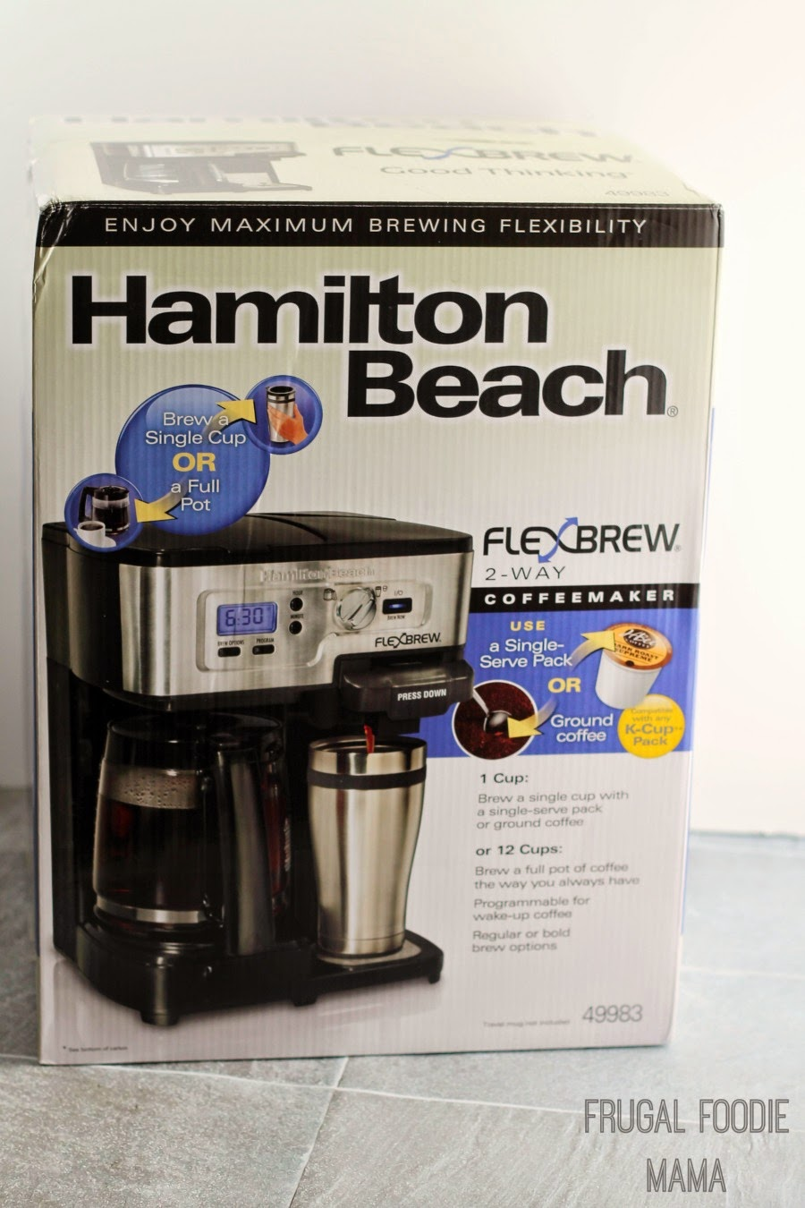 Enter to win a Hamilton Beach FlexBrew 2-Way Coffee Maker!