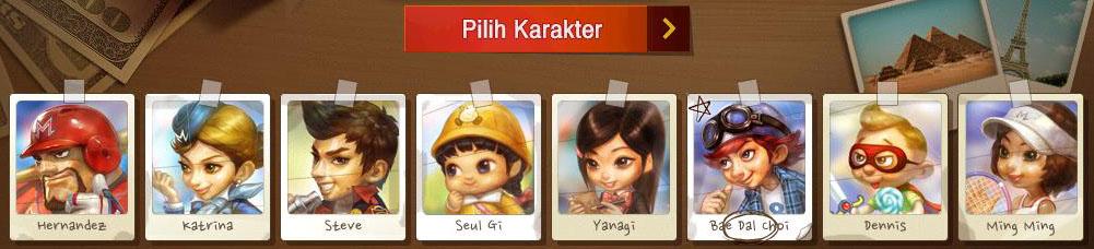 Karakter ID Monopoly Online