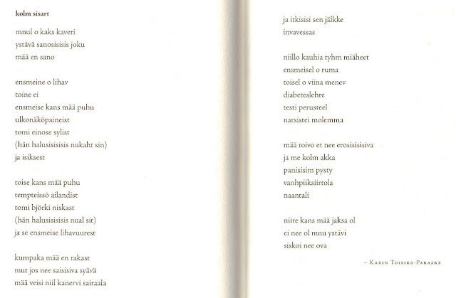 suomalaisia runoja Orimattila