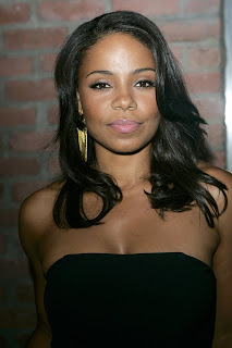 Sanaa Lathan Medium Length Black Curly Hairstyles