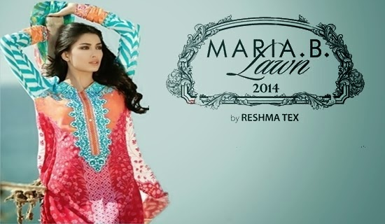 Maria.B Lawn 2014 Collection Catalogue