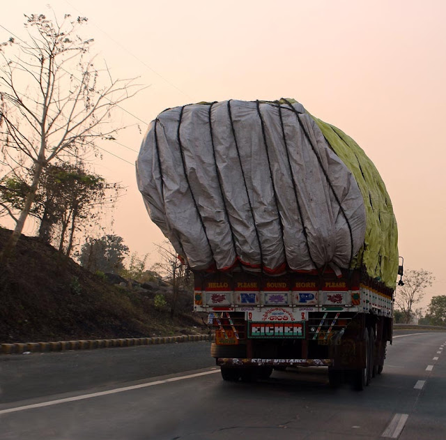overloaded trucks
