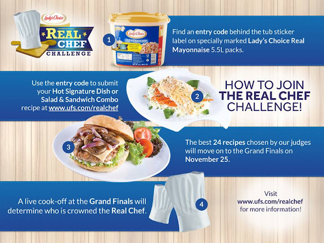 Lady's Choice Real Chef Challenge join