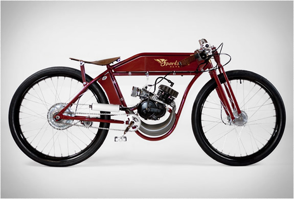 SPORTSMAN-FLYER - MOTORIZED-BICYCLES-