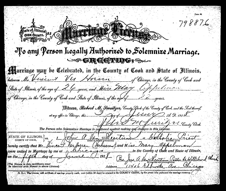 ChicagoGenealogy: Research Insights from Study and Serendipity: New ...