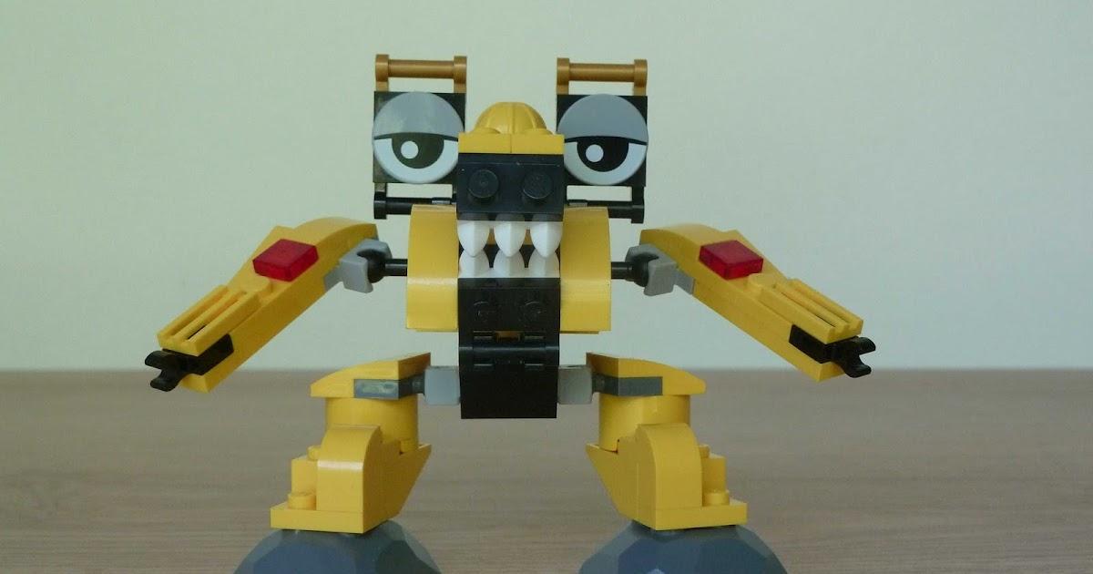 Totobricks Kramm Wuzzo Mix Instructions Lego Mixels Series 6 Lego