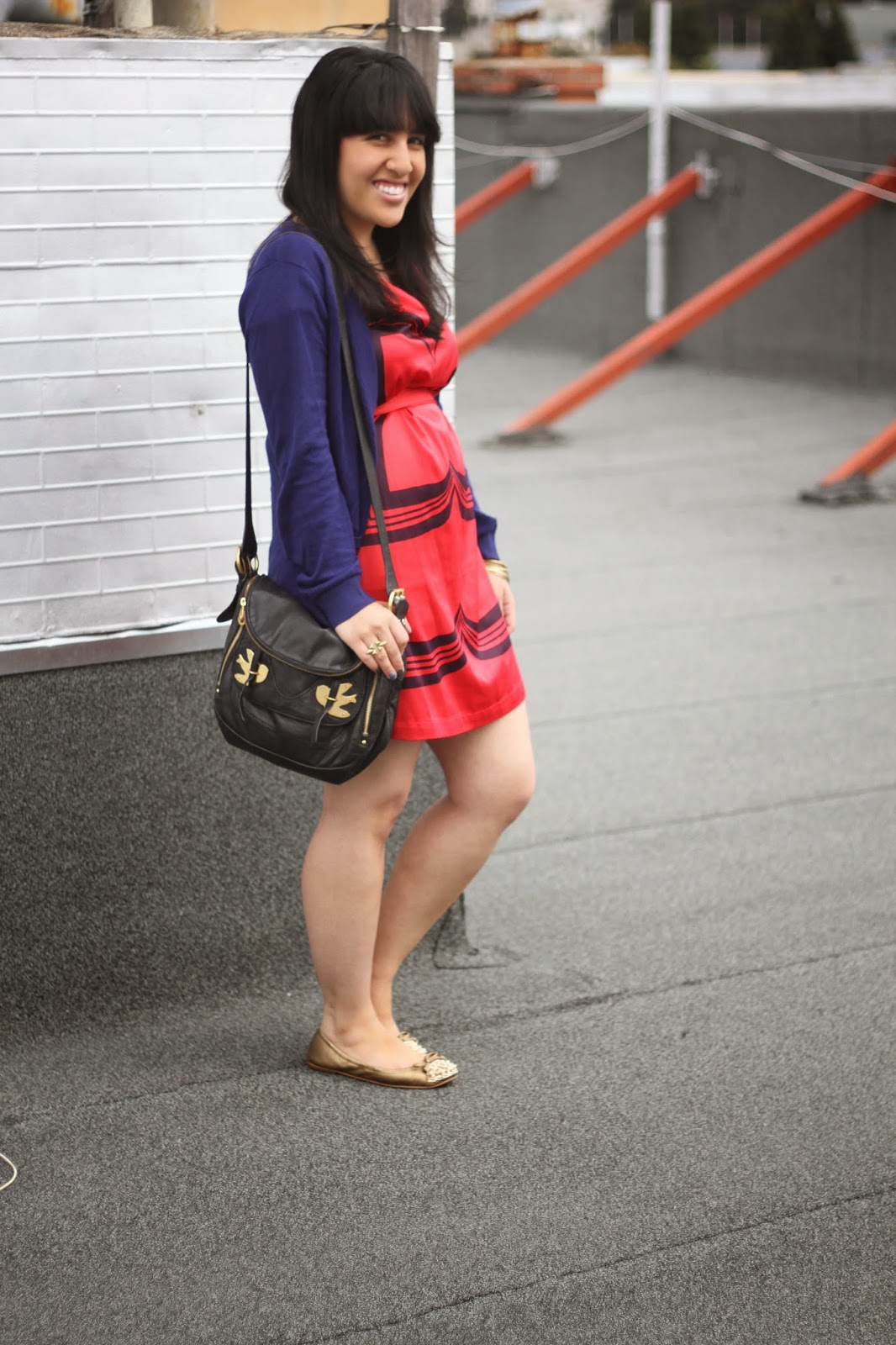 Marc Jacobs Dress and Bag