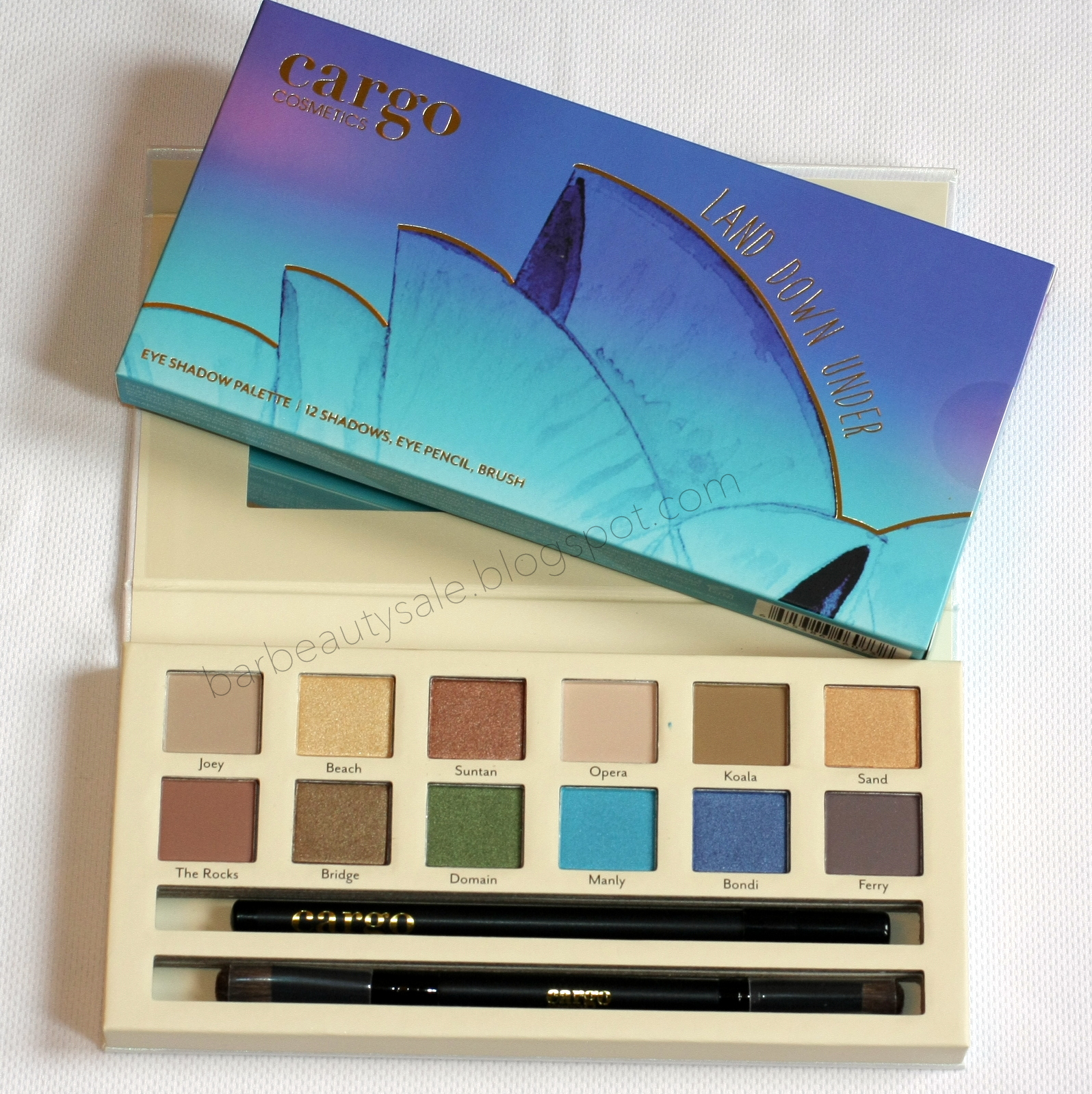 .Cargo Land Down Under Eyeshadow paletta