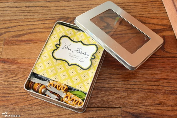 vera bradley napkins: How to Organize Grill Supplies | DIY Playbook