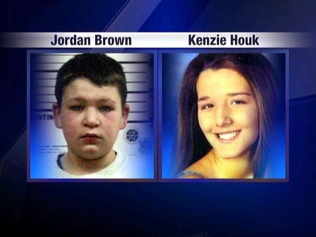 Jordan Brown dan Kenzie Houk