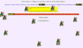 Efeitos para data do natal basta colocar o código todo