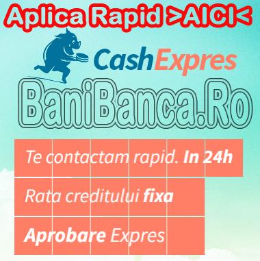 Credit de la CashExpres prin Garanti Bank – Rapid si simplu