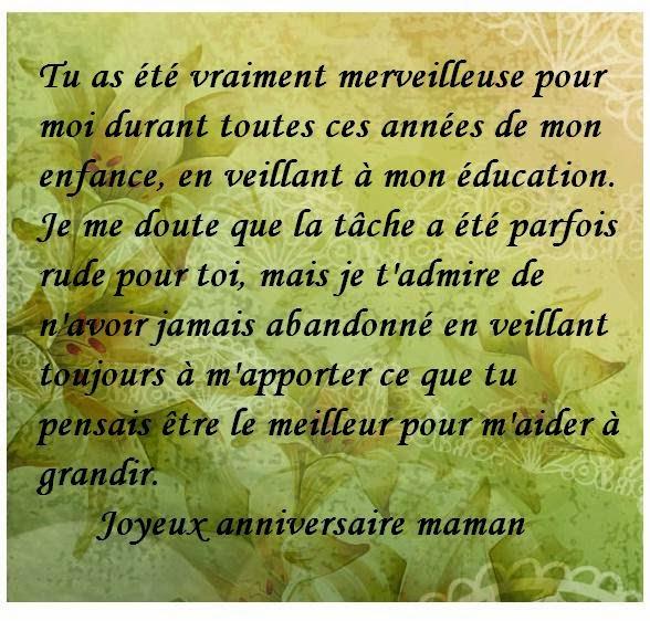 Texte Et Carte Anniversaire Maman Texte Anniversaire Sms