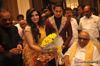 Celebraties at Actor Bharat n Jessy Wedding Reception Photos+%252837%2529 Actor Bharath n Jessy Wedding Photos
